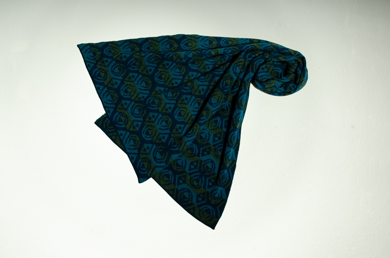Merinoschal Lotus 3-farbig