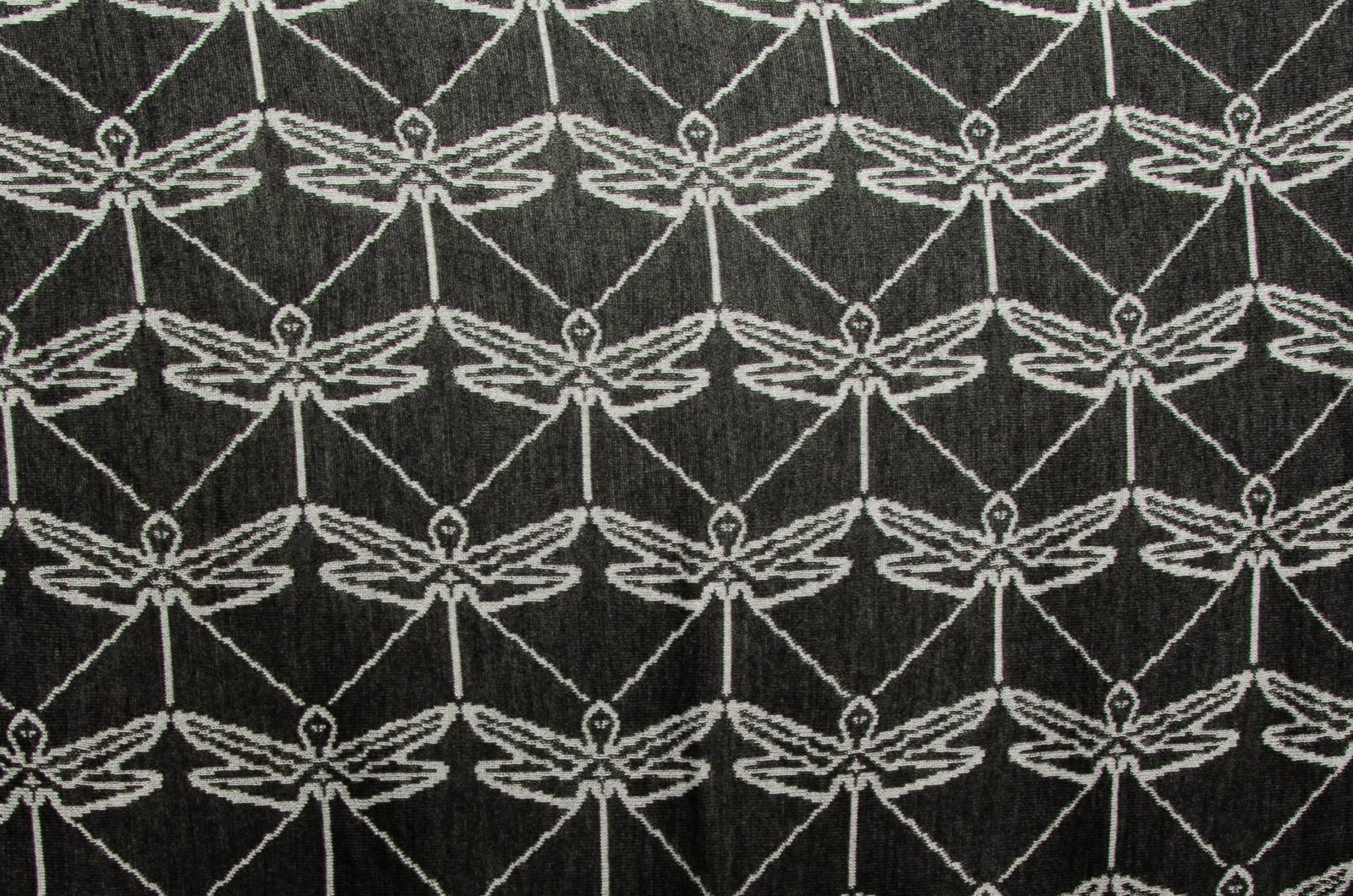 Merino Stola dreieckiges Schultertuch Libelle Damen