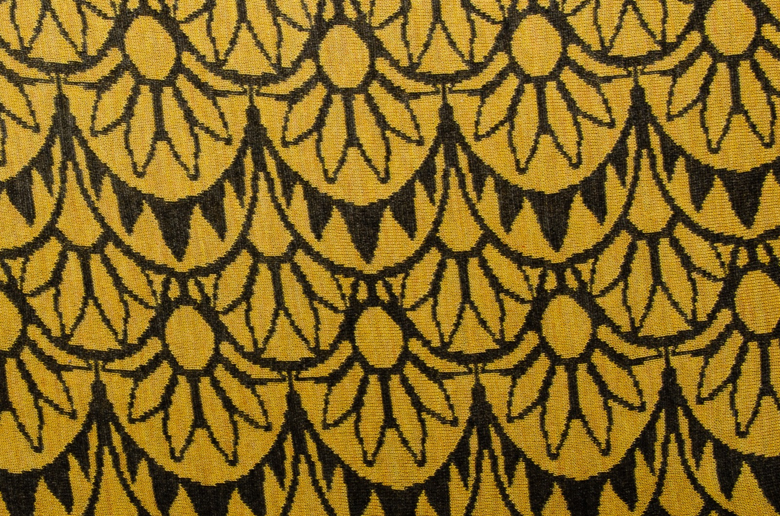 Merino Stola Damen in gelb und