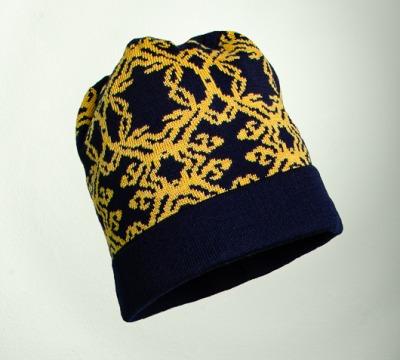Mütze Kranz in den Farben nacht