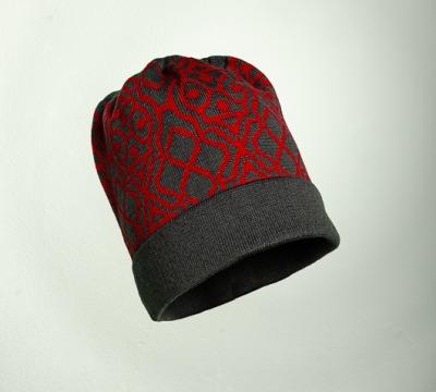 Merino Mütze Netz in den Farben