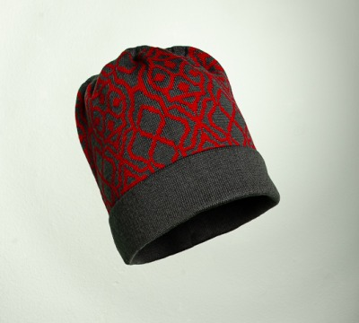 Mütze Netz in den Farben graphit