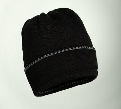 Mütze uni in den Farben schwarz