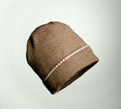 Mütze uni in den Farben taupe
