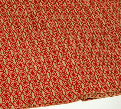 Merino scarf Blossom - hay &