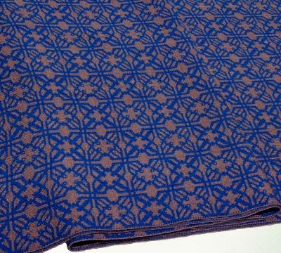 Merino Schal Irland in blau und