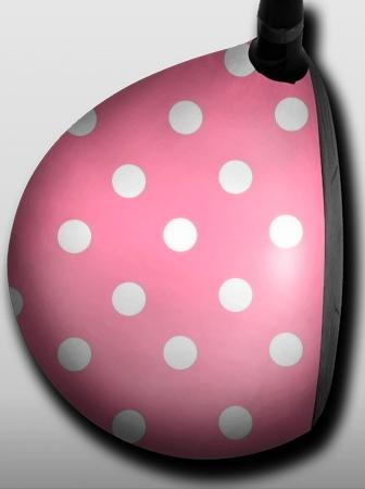 polka dots pink - 1