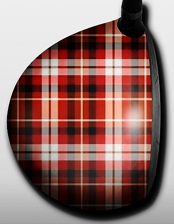 Plaid Red and Blue