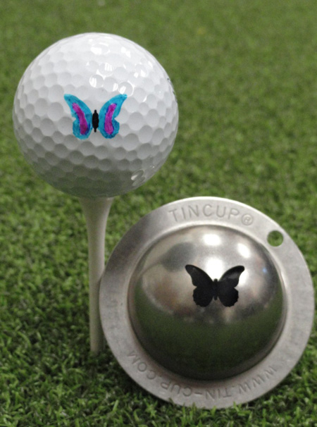 Tin Cup - Flutterby