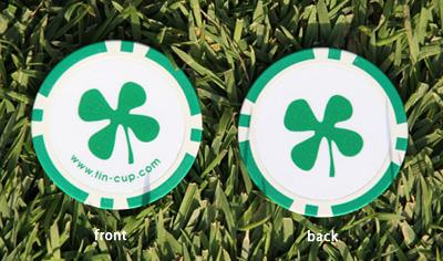 Tin Cup Ballmaker Luck Pokerchip