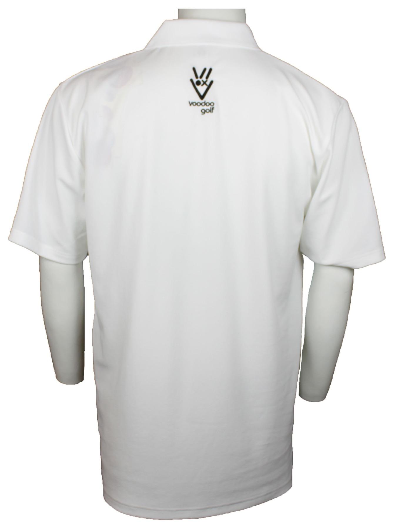 Voodoo Golf Shirt Weiss