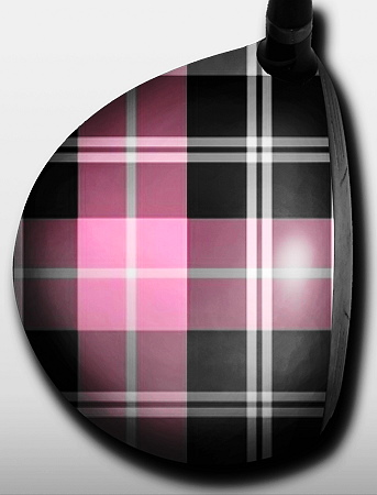 Plaid Pink and Black - 1