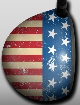American Flag Retro