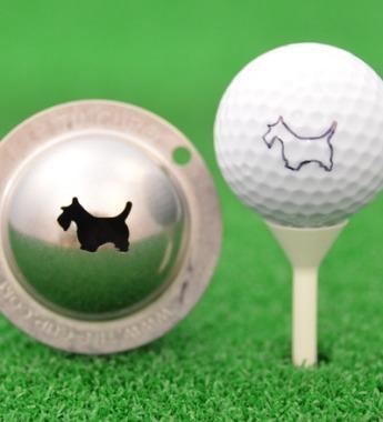 Tin Cup Scotty the Terrier Der