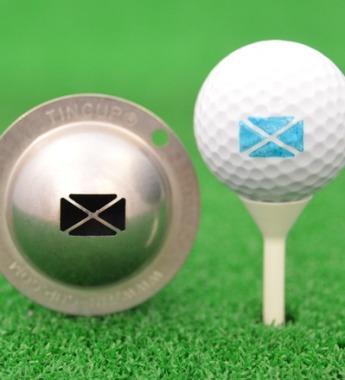 Tin Cup - Flag of Scotland