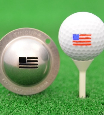 Tin Cup - Stars and Stripes