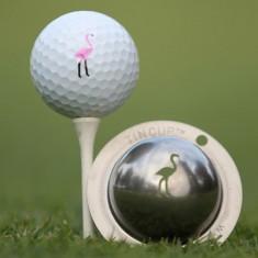 Tin Cup - Pink Flamingo