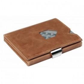 Exentri Wallet in Glattleder mit der Farbe Sand - Mit dem smarten Exentri Wallet Geldscheine und Karten einfach verwalten.