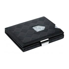 Wallet Black Chess - Das smarte Exentri Wallet verwaltet Geldscheine und Karten einfach uns stylish. Das original aus Norwegen.