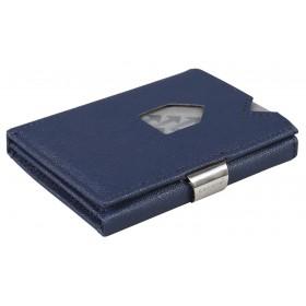 Exentri Wallet in Saffiano Blue - Mit dem smarten Exentri Wallet Geldscheine und Karten einfach verwalten.