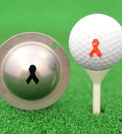 Tin Cup Breast Cancer Awareness Der