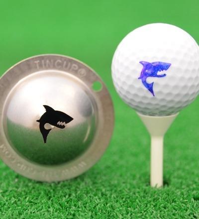 NEU Tin Cup - Hai - Eines unserer beliebtesten Designs. Der Tin Cup mit einem Hai als Design.