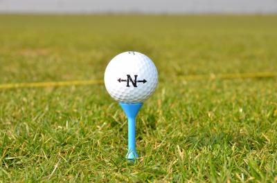 Martini Golf Tees Lang mit Abstandhalter