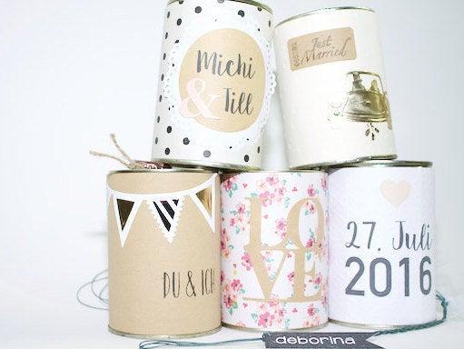 Wedding Cans Autodosen classic 5