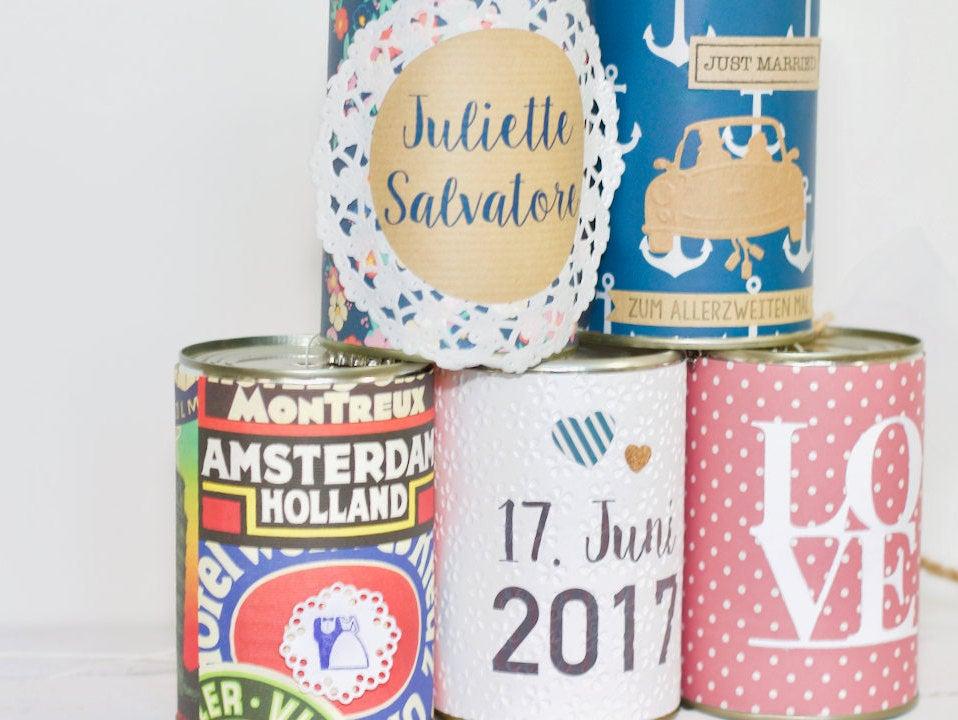 Wedding Cans Autodosen classic 9