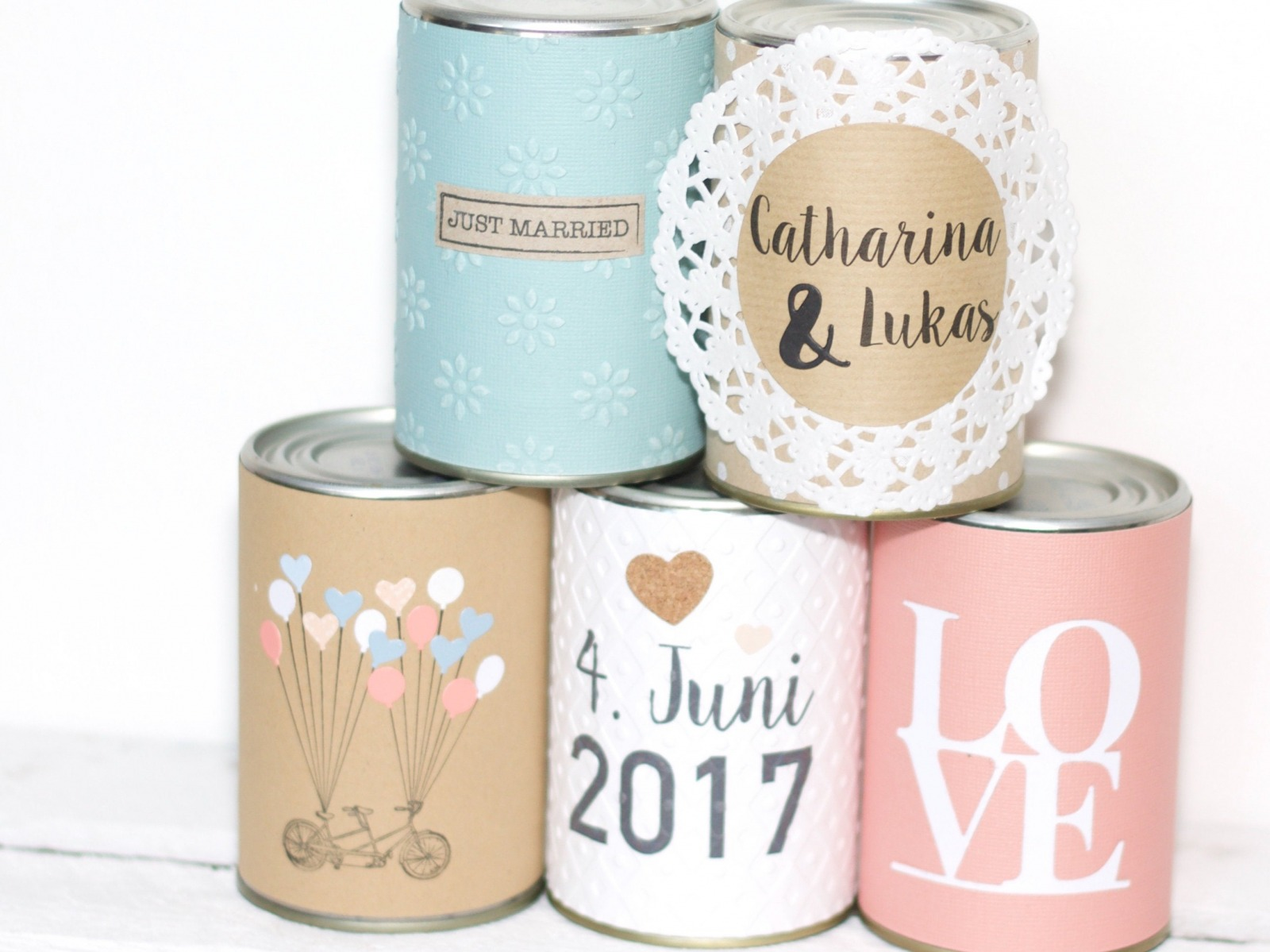 Wedding Cans Autodosen classic 10