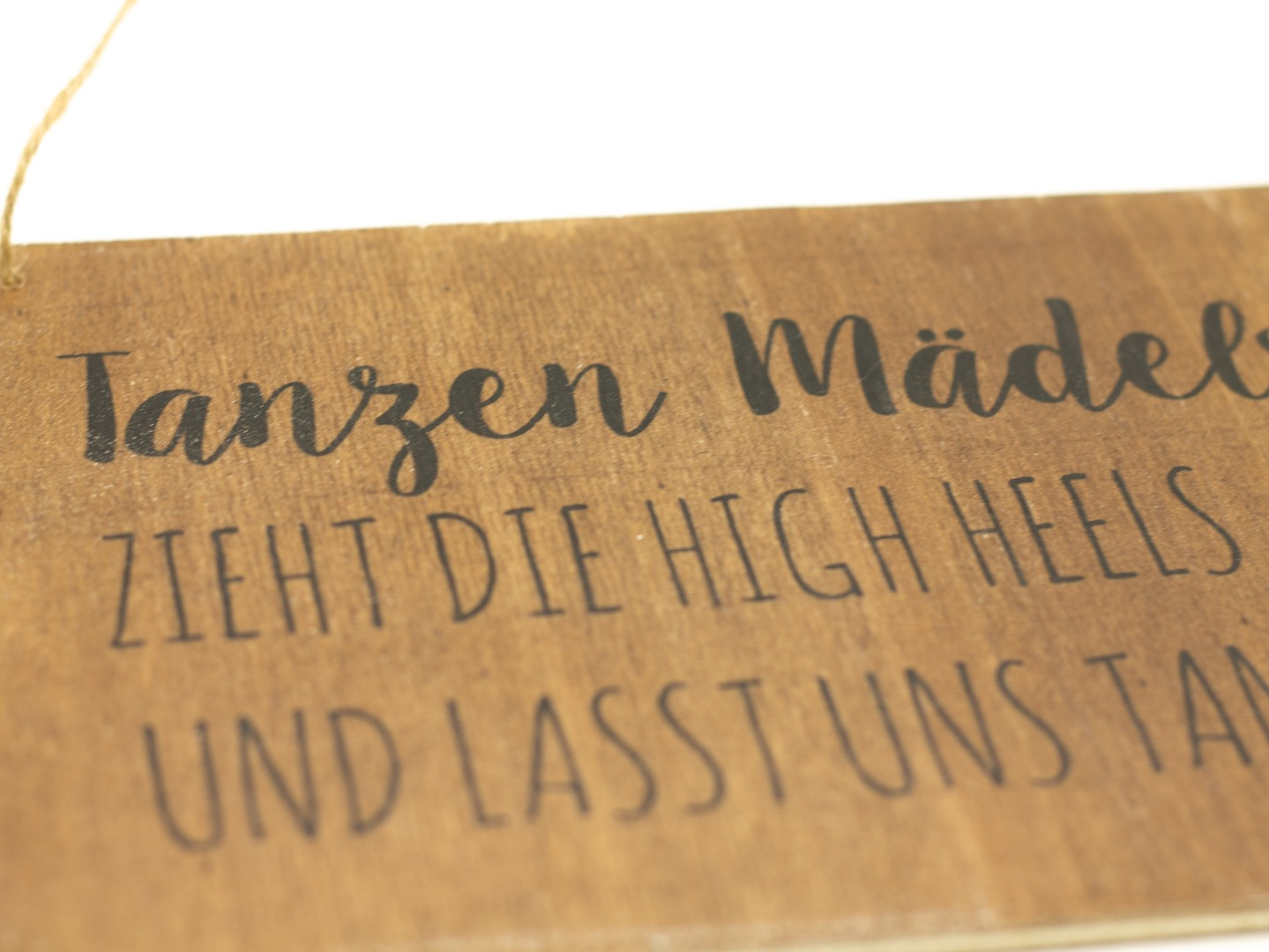 Tanzen Mädels - Holzschild 6