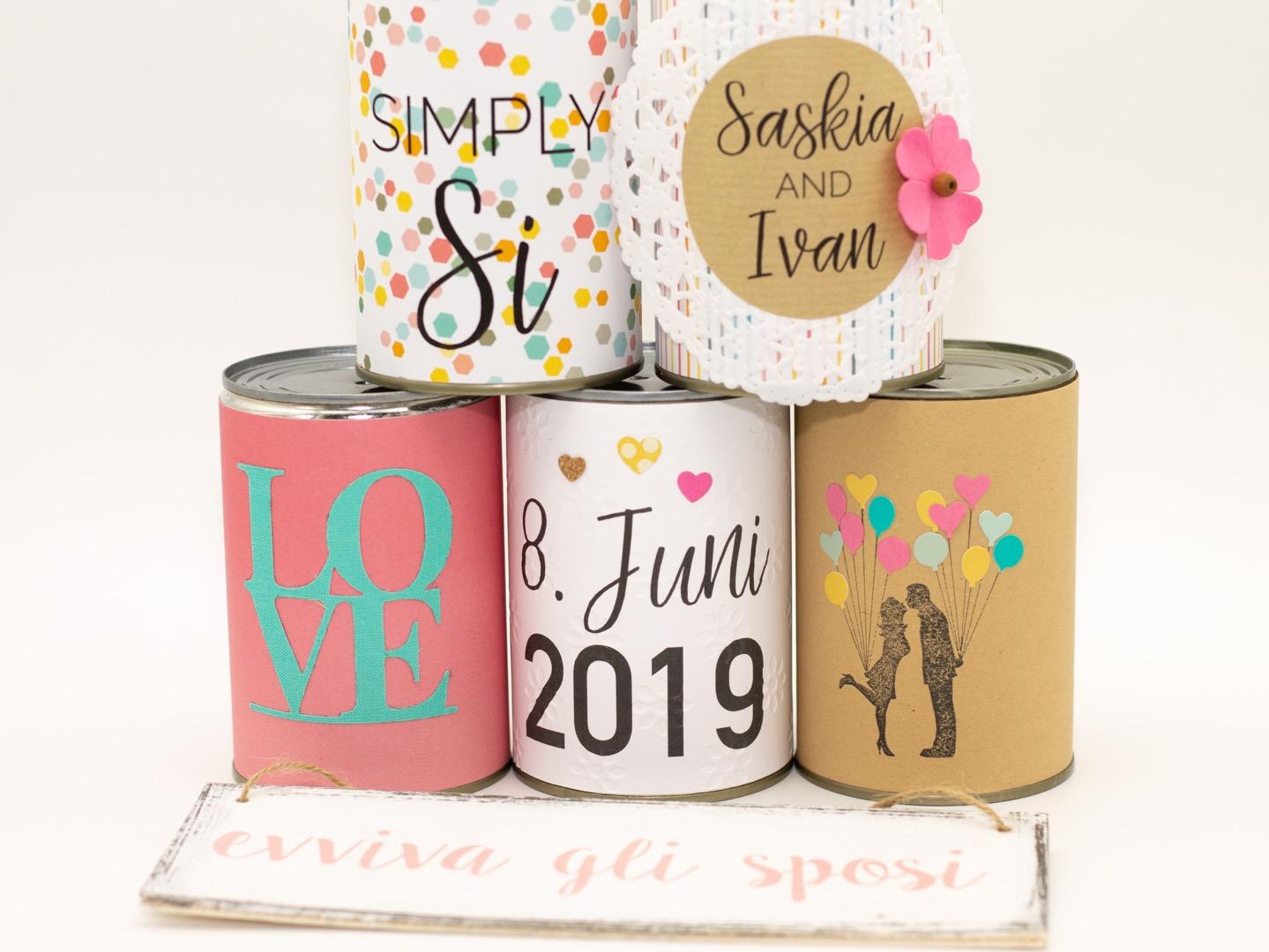 Wedding Cans Autodosen classic 12