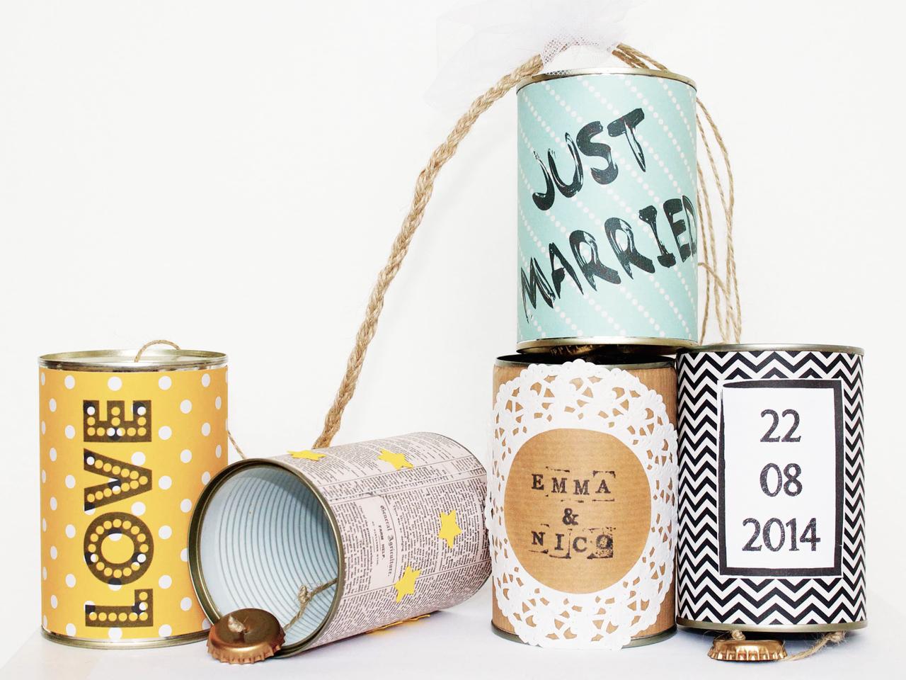 Wedding Cans Autodosen classic