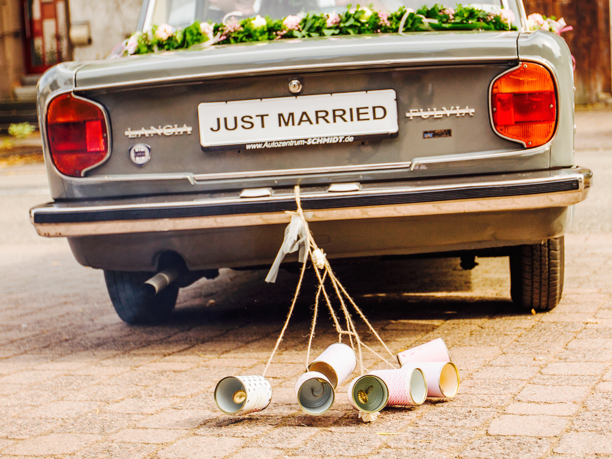 Wedding Cans Autodosen classic 2