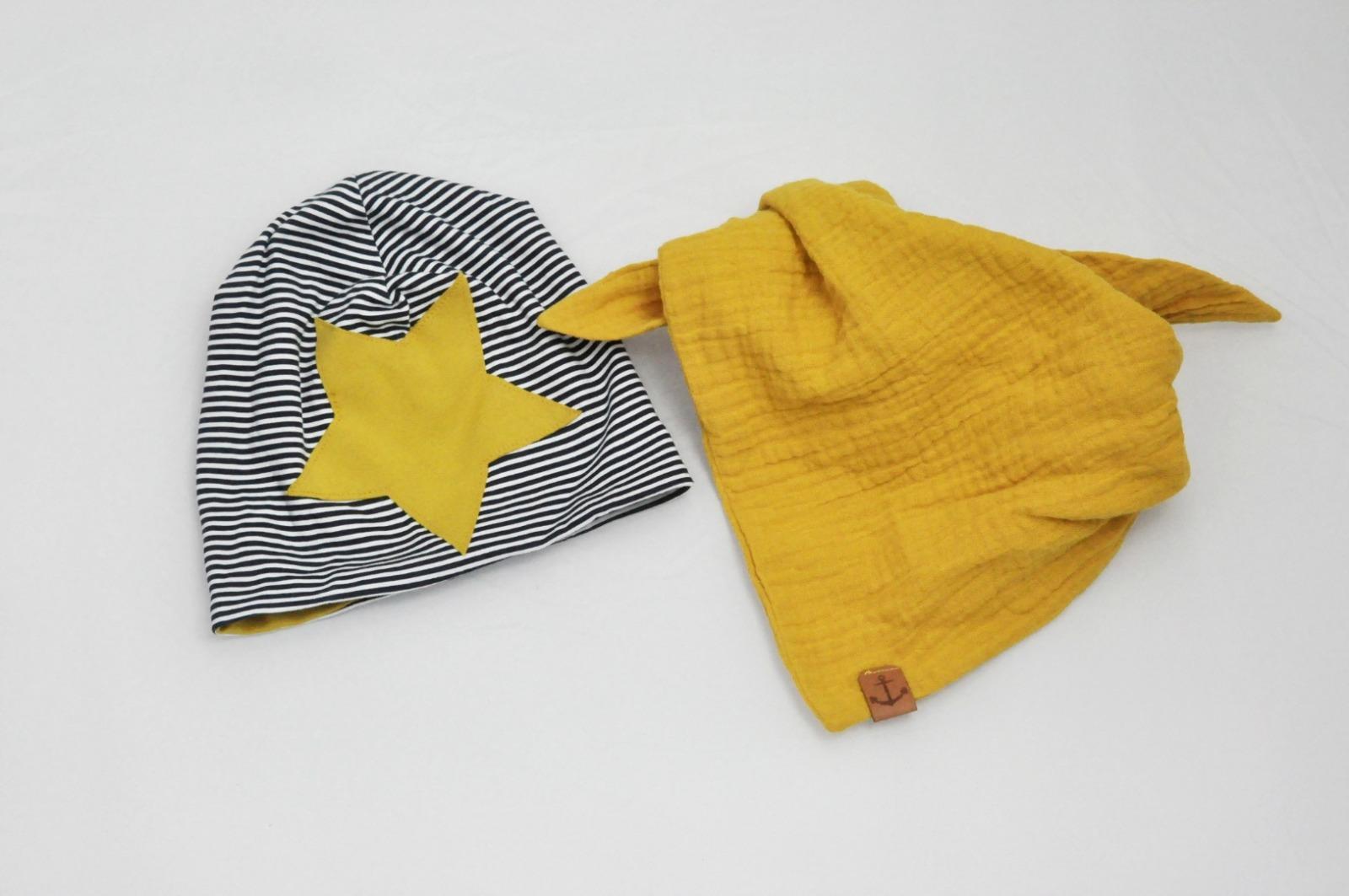 Beanie Mütze Kindermütze Stern 3