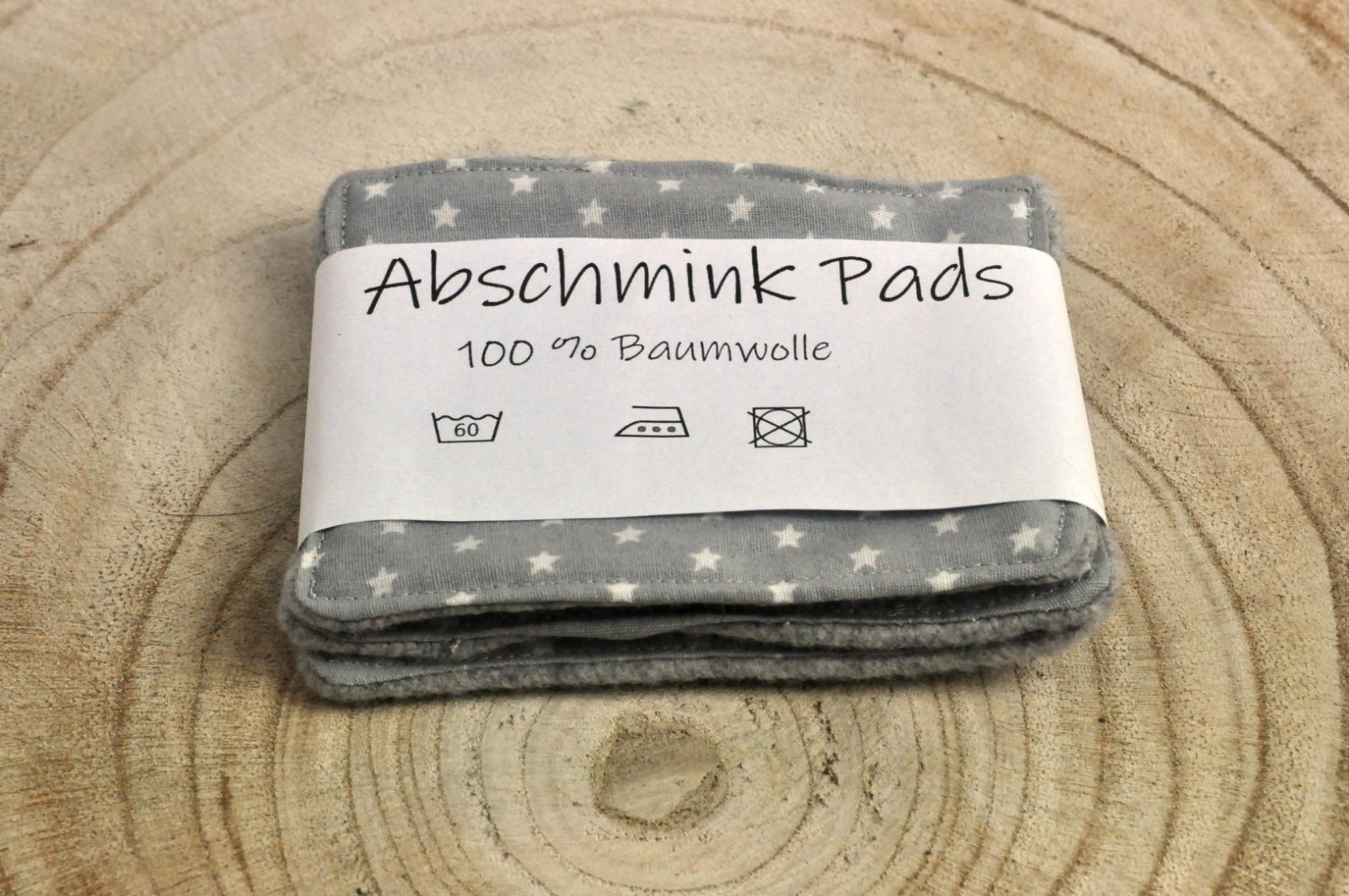 Abschmink Pads wiederverwendbar 100 Baumwolle Zero