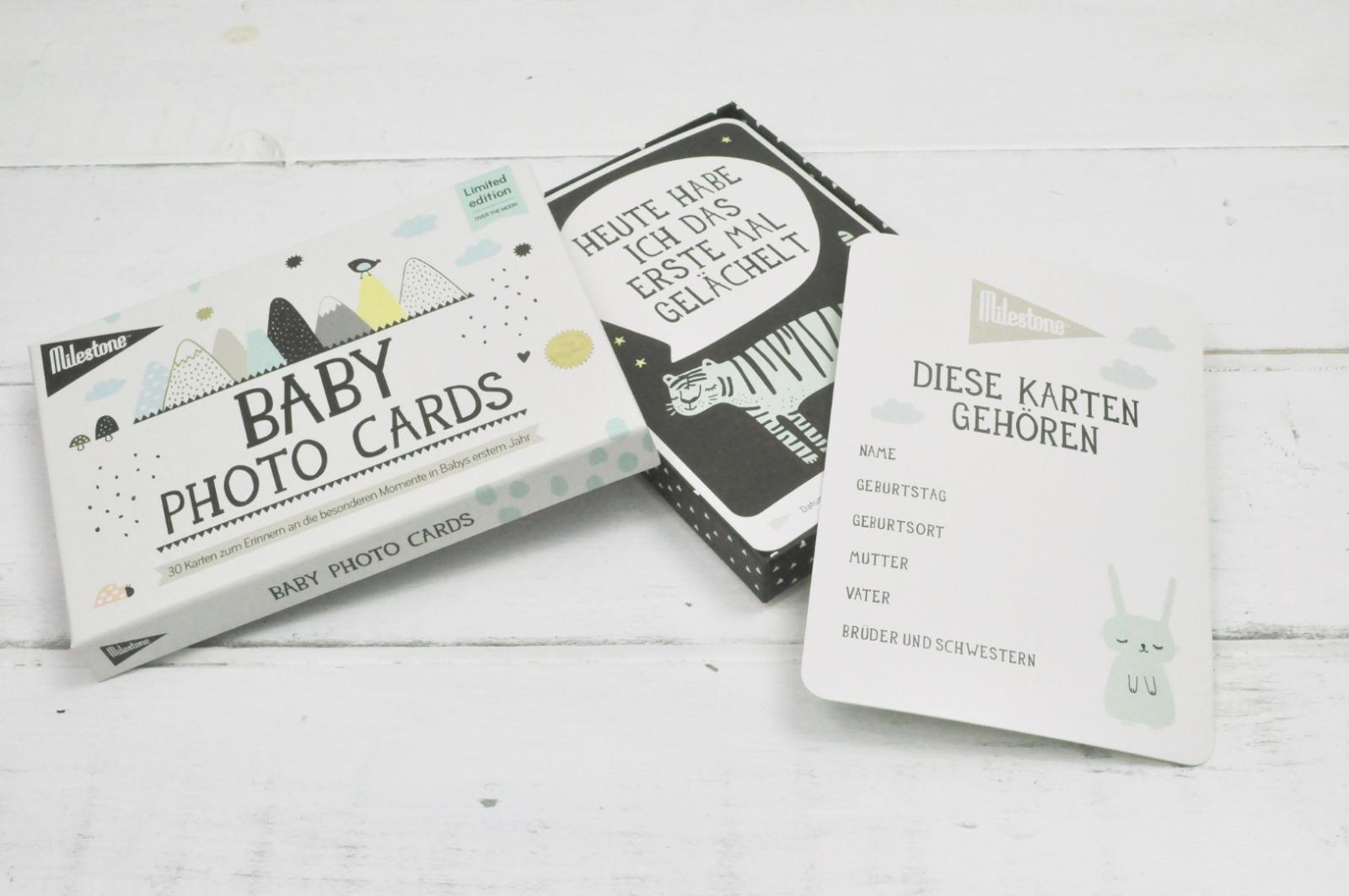 Baby Photo Cards von Milestone Over