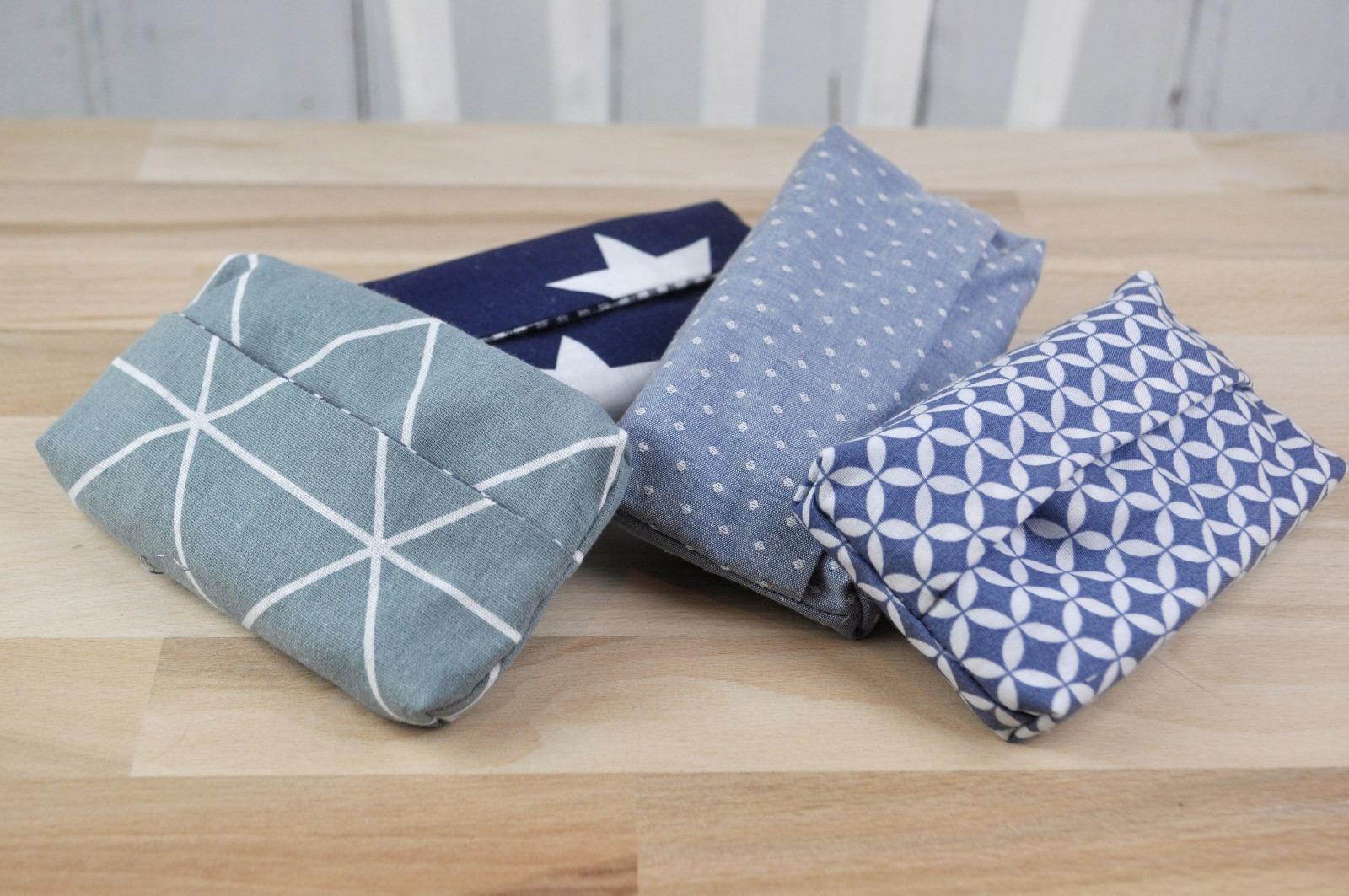 Taschentüchertasche blau
