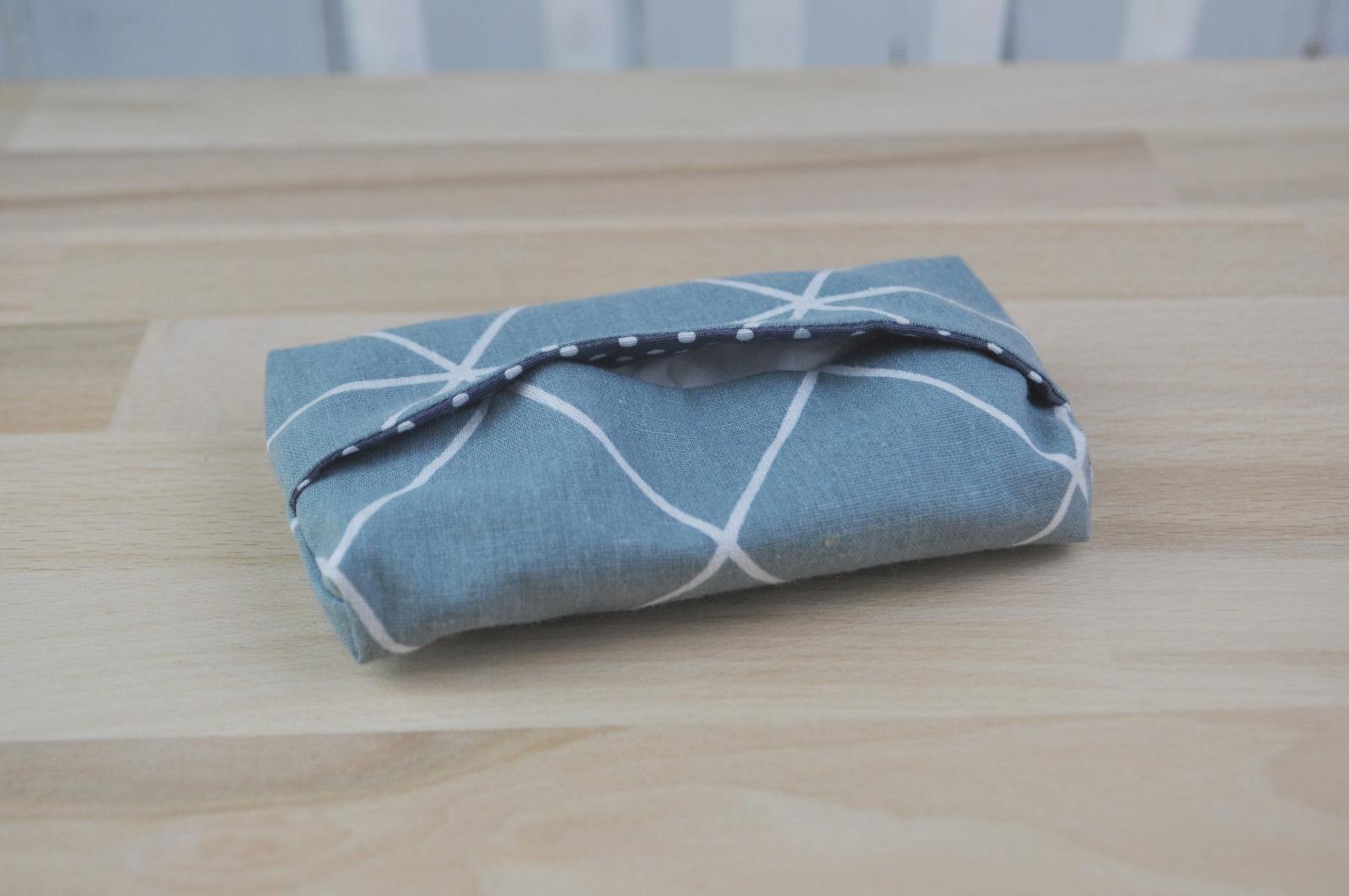 Taschentüchertasche blau 2