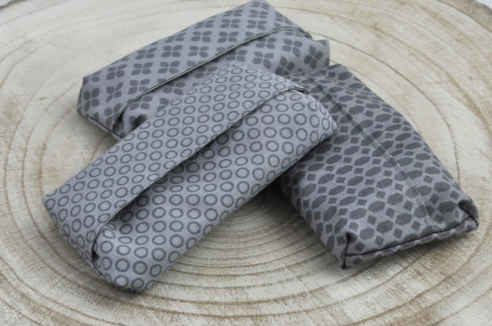 Taschentüchertasche grau
