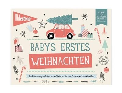 Baby Cards Milestone Weihnachten 3