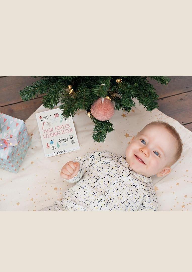 Baby Cards Milestone Weihnachten 2