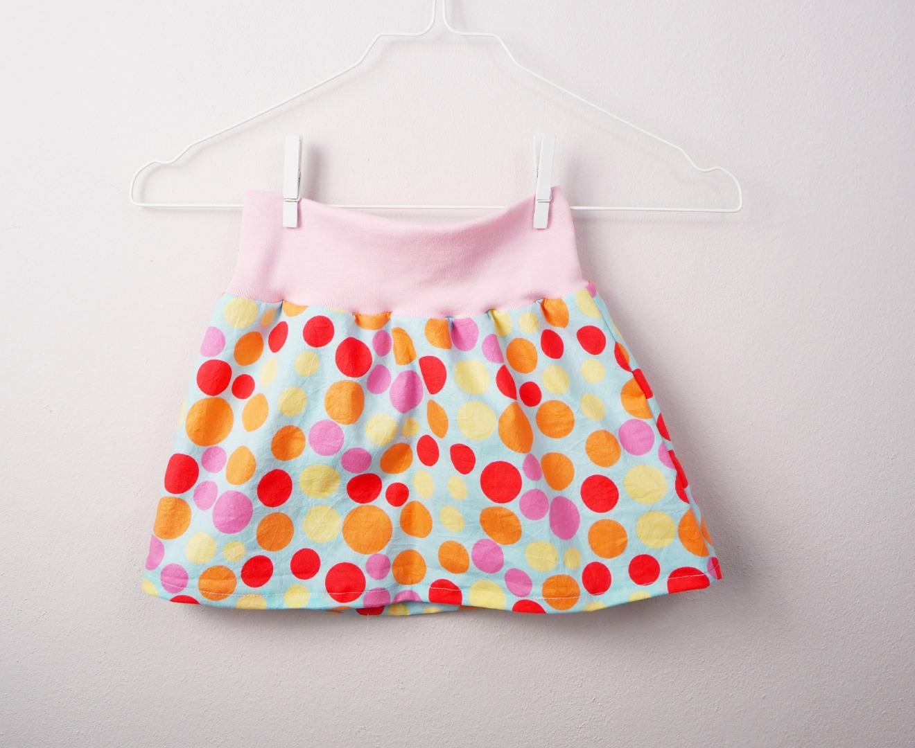 Mädchenrock Skirt Regenbogen