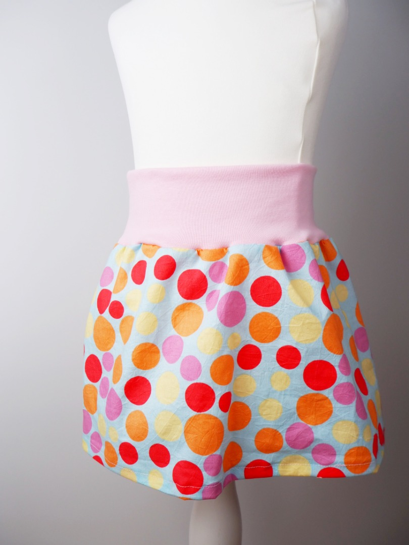 Mädchenrock Skirt Regenbogen 2