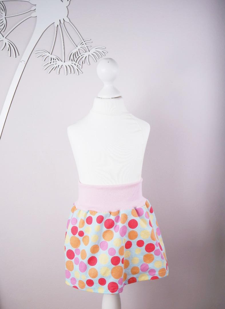 Mädchenrock Skirt Regenbogen 3