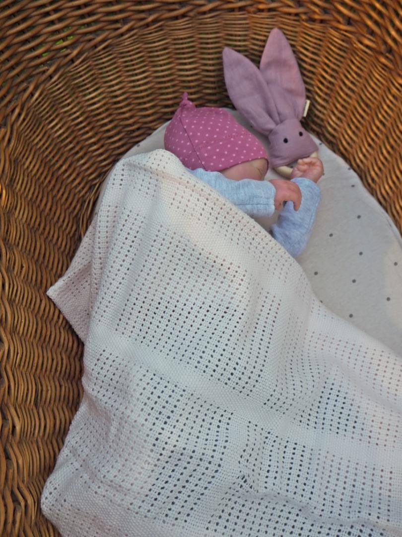 Baumwolle Strickdecke lulujo 5