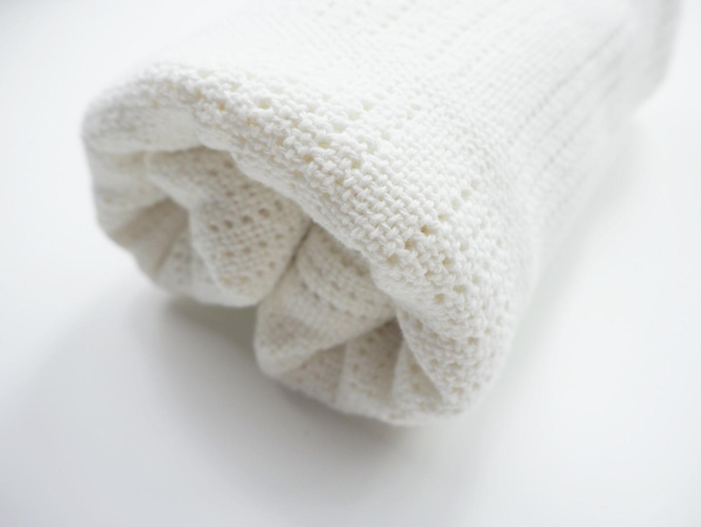 Baumwolle Strickdecke lulujo 4