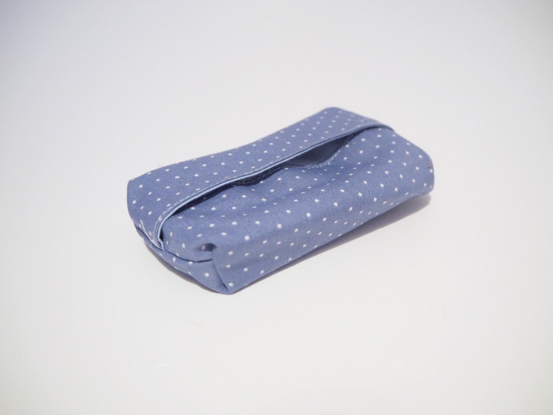 Taschentüchtasche blau 4