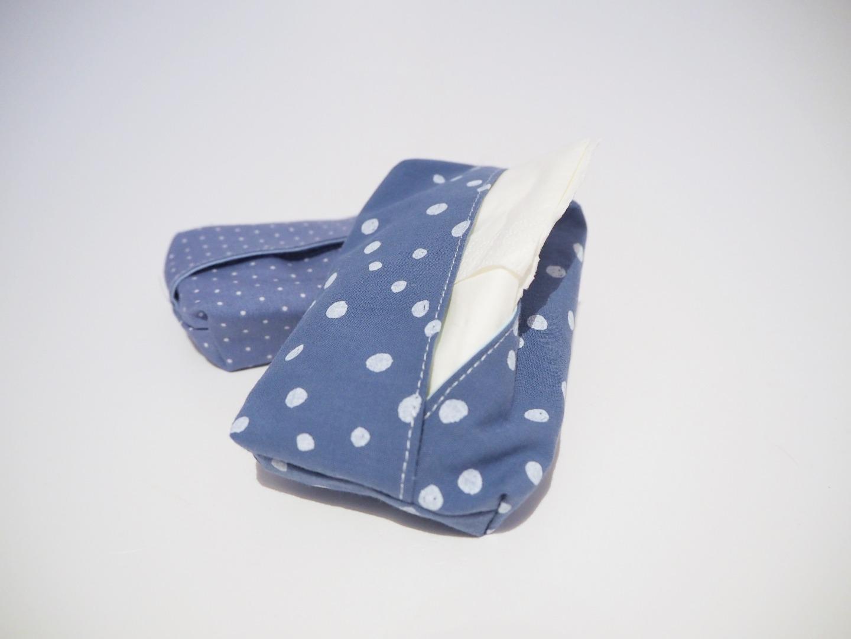 Taschentüchtasche blau 5