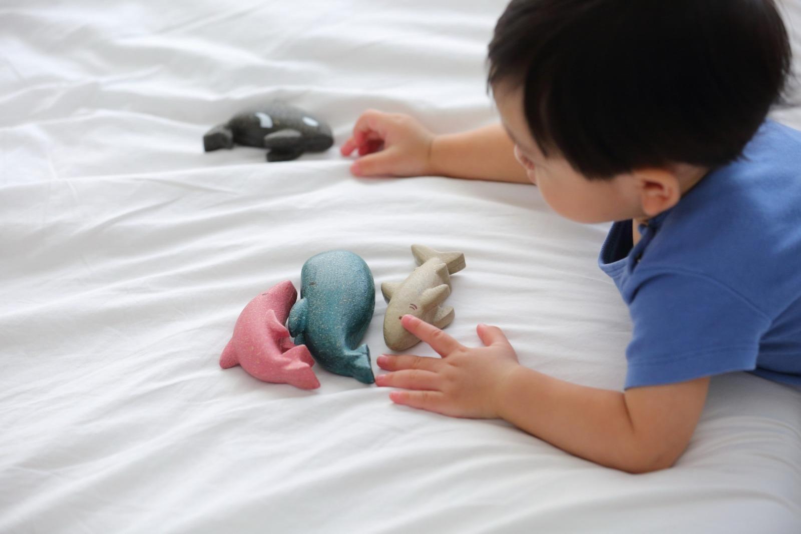 Sea Life Puzzle Plan Toys Teile